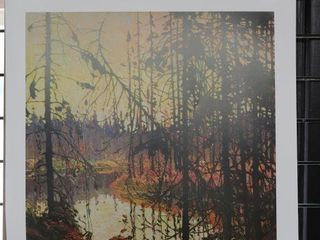 TOM THOMSON  NORTHERN RIVER  NUMBERED PRINT