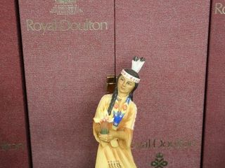ROYAl DOUlTON DANCERS OF THE WORlD NORTH AMERICAN