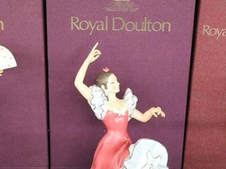 ROYAl DOUlTON DANCERS OF THE WORlD SPANISH