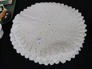 8 KNITTED PlACE MATS 14