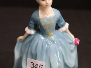 ROYAl DOUlTON  THE CHIlD FROM WIllIAMSBERG  HN