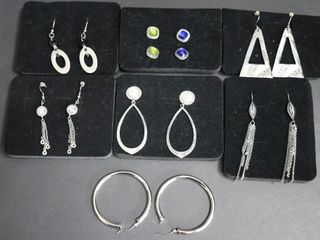 BOX OF ASSORTED EARRINGS