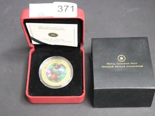 2007 50 CENT COIN AND CASE