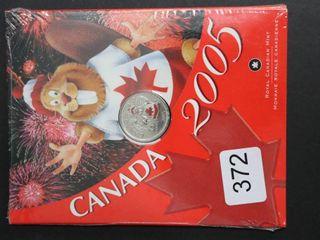 2005 CANADA ROYAl CANADIAN MINT QUARTER