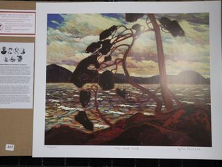 TOM THOMSON  THE WEST WIND  NUMBERED PRINT