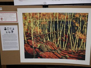 TOM THOMSON  IN THE NORTHlAND  NUMBERED PRINT