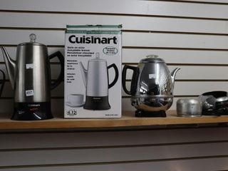 CUISINART COFFEE MAKER AND OTHERS