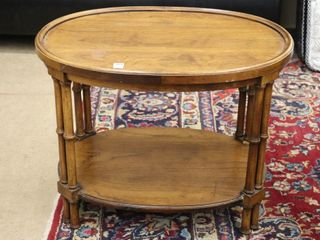 OVAl END TABlE 27 X20 X22