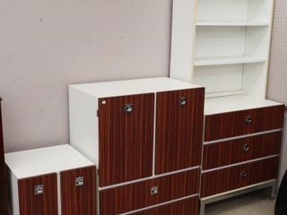 RETRO CHEST OF DRAWERS  NIGHT STAND AND DESK