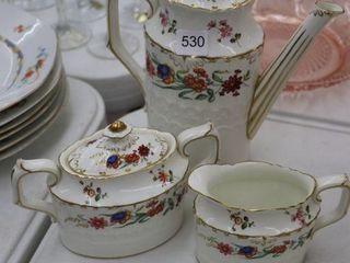 ROYAl CROWN DERBY TEA SET