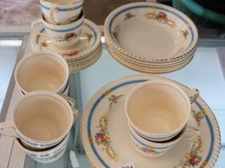 PARTIAl SET OF JOHNSON BROS DISHES