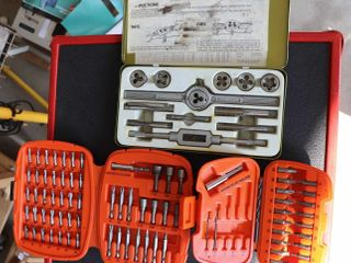 2 BIT SETS AND TAP AND DIE SET