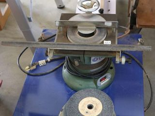 CRAFTEX B1288 6  SURFACE GRINDER WITH WHEElS