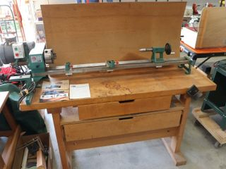 TYME CUB 39  WOOD lATHE WITH STAND 240V