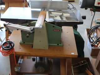 INCA COMBINATION 10  JOINTER PlANER WITH CART AND