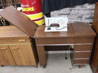ElNA CABINET SEWING MACHINE 35 18 X30
