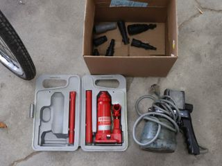WAGNER POWER PAINTER AND 2 TON HYDRAUlIC JACK