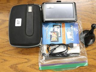 GARMIN NUVI GPS AND CASE  USB CORD ONlY