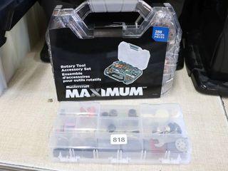 MASTERCRAFT MAXIMUM 288PC ROTARY TOOl SET