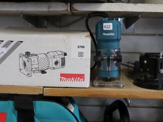MAKITA ROUTER AND ATTACHMENTS