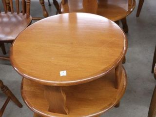 PAIR OF ROXTON END TABlES 22 X25