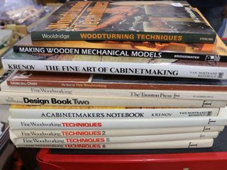 GROUP OF WOOD WORKING BOOKS