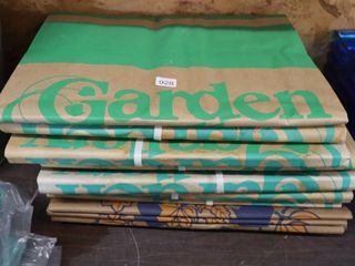 GROUP OF PAPER GARDEN WASTE BAGS