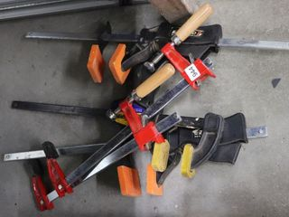 GROUP OF ASSORTED ClAMPS