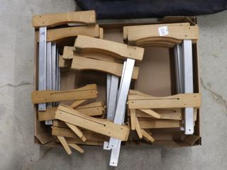 GROUP OF 8  BAR ClAMPS