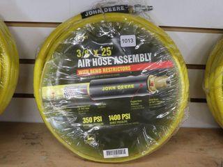 NEW JOHN DEERE 3 8 X25  AIR HOSE