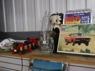 DUKES OF HAZZARD PUZZlE  GlASS ROllING PIN