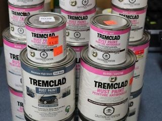 GROUP OF ASSORTED TREMClAD PAINT