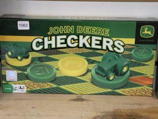 JOHN DEERE CHECKERS GAME