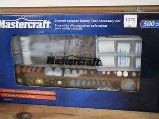 MASTERCRAFT 500PC ROTARY BIT SET
