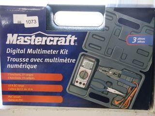 MASTERCRAFT DIGITAl MUlTI METER