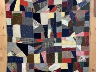 Early Waterloo County Patchwork Quilt