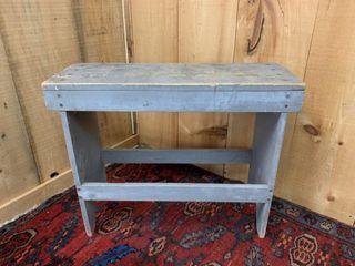 Original Paint Pine Bench