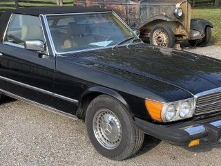 1976 Mercedes 450Sl Convertible