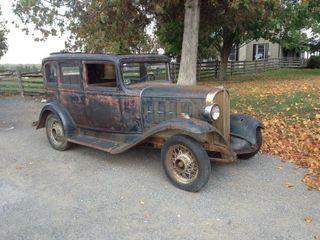 1931 Pontiac 6 Sedan   Spare Parts