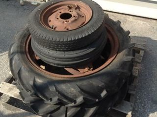 Set of Tractor Tires