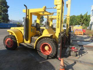 Hyster.Model 200, 20,000 # Capacity Diesel Forklift