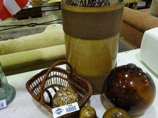lot of Home Decor  Vase  Artificial Fruits  Etc