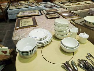 Assorted White Dish Wear