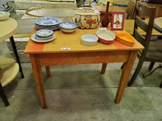Wooden Table  l  36  x W  24  x H  28