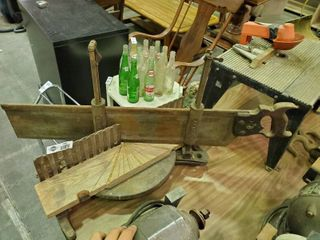 Stanley Miter Box with Handsaw