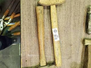2  large Hammers