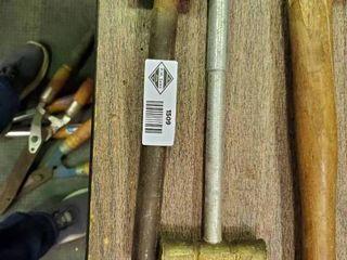 2  lead  Brass Hammer