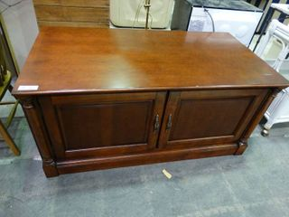 Two Door Wooden Console Table