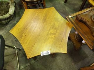 Small Wooden  Plant  Table  H  2ft