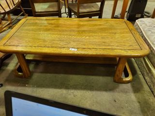 Wooden Coffee Table  H  16  l  54  W  30